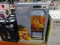 Mason Craft & More 2.9 gallon beverage dispenser