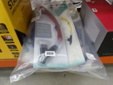 4 dry snorkel and goggle sets