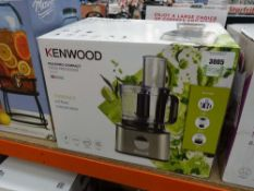 (48) Kenwood multipro compact food processor