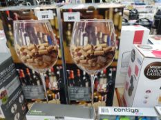 3003 Large decorative wine glass