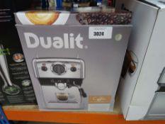 Dualite coffee machine