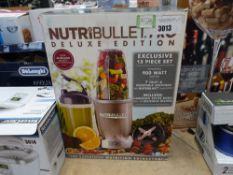 (50) Nuitri bullet deluxe edition blender
