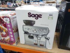(55) Saga Barister Express coffee machine