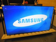 Samsung model LH75DMD professional display screen with remote (manufactured 2015, damage to frame