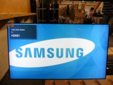 Samsung model UE46C colour display screen with remote (manufactured 2014)