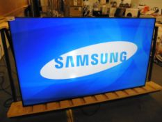 Samsung model LH75DMD professional display screen with remote (manufactured 2015)