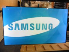 Samsung model UE55D colour display screen with remote (manufactured 2015)