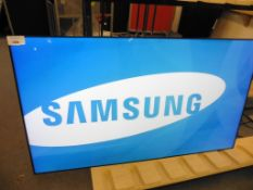 Samsung model UE55D colour display screen with remote (manufactured 2016)
