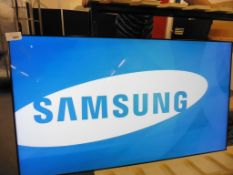 Samsung model UE55D professional 55'' colour display with remote (manufactured 2016)