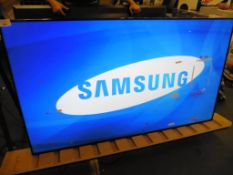 Samsung model LH75DMD professional display screen with remote (manufactured 2015, sticky tape on