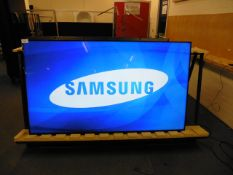 Samsung model LH75DMD 75'' professional display monitor with remote (manufactured 2015)
