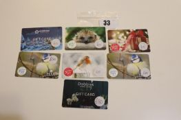Various : Gardening (x7) - Total face value £155