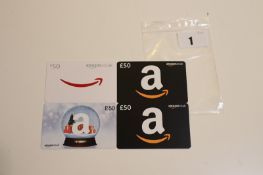 Amazon (x4) - Total face value £200