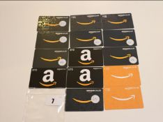 Amazon (x14) - Total face value £200