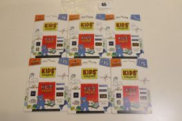 Kids Choice (x6) - Total face value £90