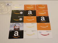 Amazon (x15) - Total face value £170