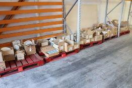 5 small pallets comprising of a large qty of crockery and china in white and assorted patterns to