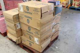 Large pallet of Swantex and Lotus napkins