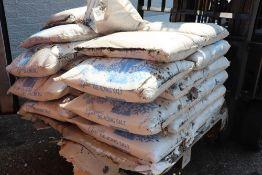 Approximately 40 bags of Glacier de-icing rock salt