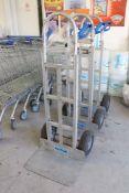 3 AluTruk aluminium framed heavy duty sackbarrows