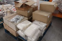 14 large boxes of lamp light and other candles plus some loose bags
