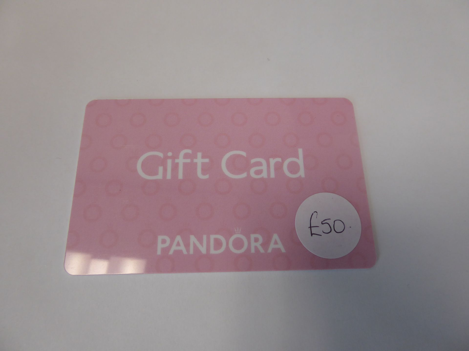 Pandora (x1) - Total face value £50