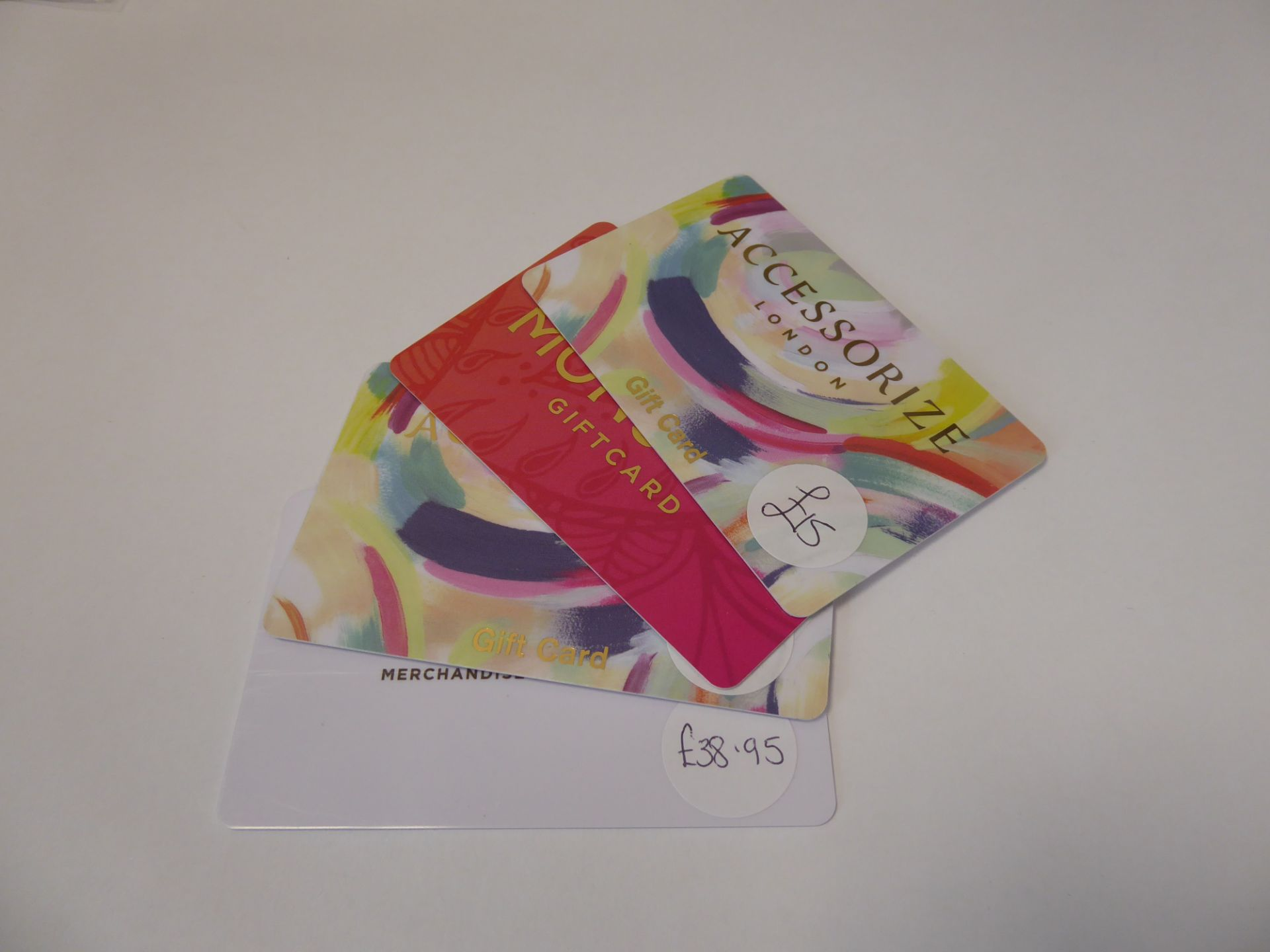 Monsoon (x4) - Total face value £93.95