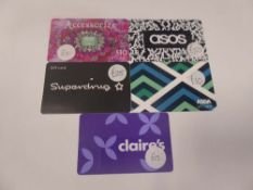 Various : Fashion (x5) - Total face value £110