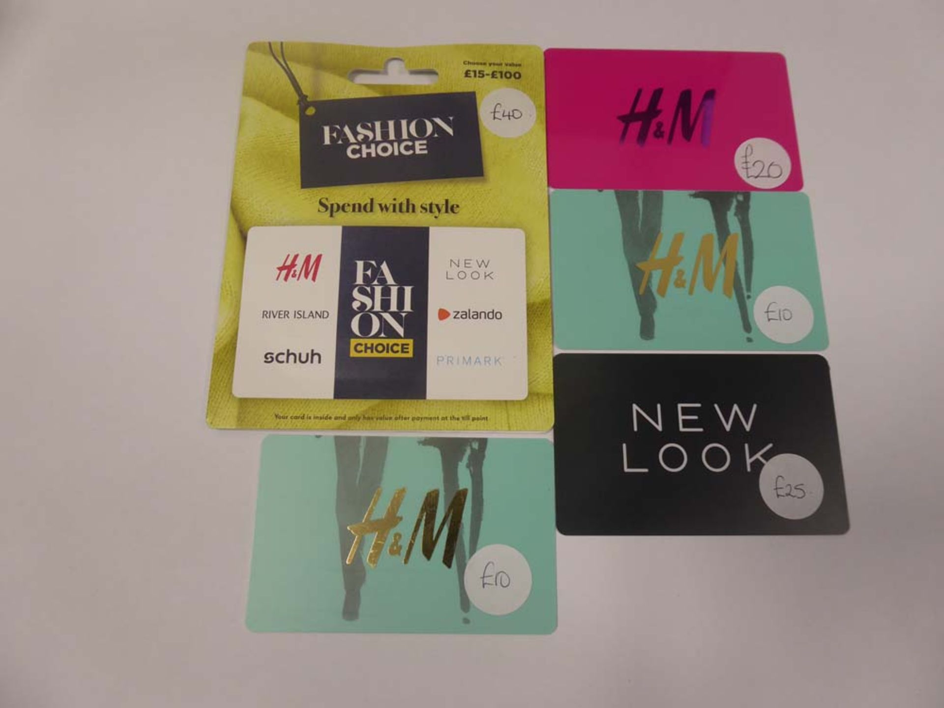 Various : Fashion (x5) - Total face value £105
