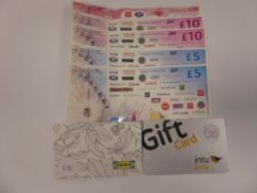 Various (x5) - Total face value £90