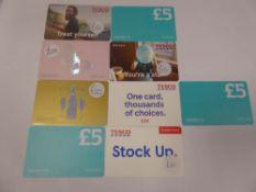 Various : Supermarket (x9) - Total face value £115
