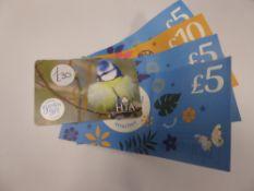 National Garden (x3) - Total face value £55