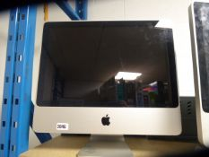 Apple iMac all in one computer no accessories model A1224