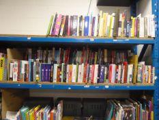 Shelf of various books, Autobiographies, novels, etc