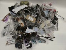 Bag containing quantity of various reading glasses and sunglasses