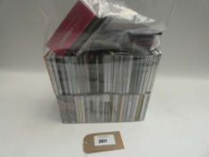 Bag containing quantity of various music CD albums