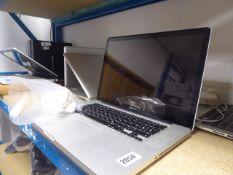 Apple Mac Book Pro laptop model A1286 with psu