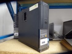 130 DEll Optiplex 3010 desktop tower with bios lock and HDD