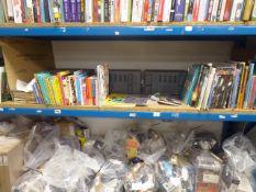 Shelf of children's books , Graphic novels, etc.