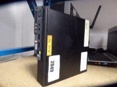 Dell Optiplex 3020 client PC Intel i3 4th gen. processor, 4gb ram, 500gb hdd no psu
