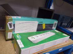 2099 Logitech MK220 keyboard and APC multi socket adaptor