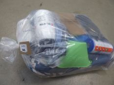 3541 Large tarpaulin, 2 x Wurth pressure pumps, hozelock attachment, Scrunch bucket, Flow Clear