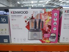 Boxed Kenwood multipro compact food processor (46)