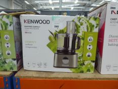 Boxed Kenwood multipro food processor (58)