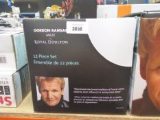 Boxed Gordon Ramsey maze Royal Doulton dinnerware set