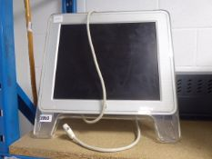 Apple iMac with DVI input cable