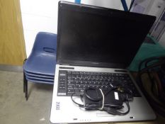 Toshiba Equium A100 laptop with power supply