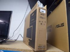 2458 Acer 22'' K2 series monitor in box