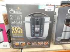 (89) Boxed 20 in 1 digital pressure and multi cooker
