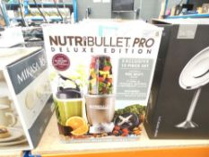 Nutri bullet pro deluxe edition
